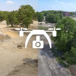 Het projectgebied in vogelvlucht: de werkzaamheden mei 2017